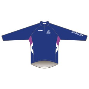 Triathlon Scotland Junior Long Sleeved Downhill Jersey
