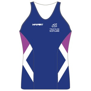 Triathlon Scotland Women's Tri Top - No Pockets