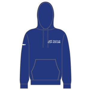 Triathlon Scotland Junior Hoodie (Royal Blue)