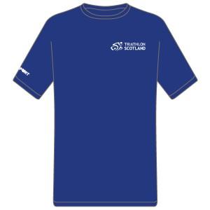 Triathlon Scotland Cool T (Royal Blue)