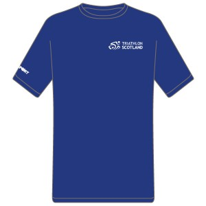 Triathlon Scotland Junior Cool T (Royal Blue)
