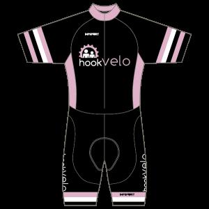Hook Velo Pink T1 Skinsuit - Short Sleeved