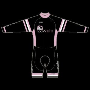 Hook Velo Pink T1 Skinsuit - Long Sleeved
