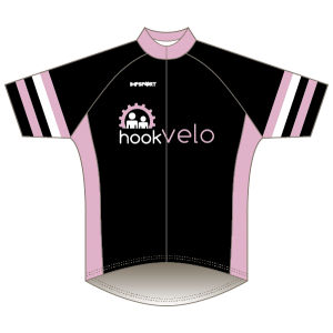 Hook Velo Pink T1 Road Jersey - Short Sleeved