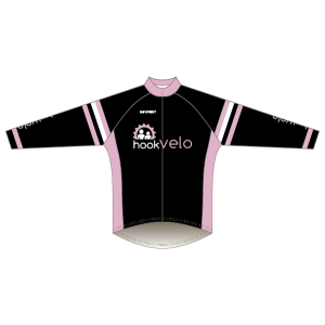 Hook Velo Pink T1 Road Jersey - Long Sleeved