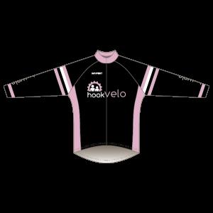 Hook Velo Pink T1 Road Jersey - Long Sleeved