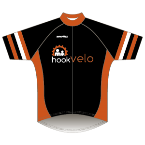 Hook Velo Orange T2 Road Jersey