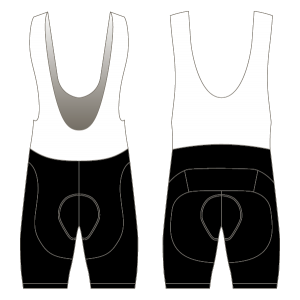 The Tandem Club Sportive Bibshorts (Black)