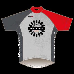 Lovibonds Brewery Grey Design T1 Road Jersey - Short Sleeved
