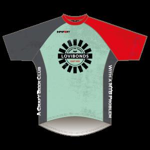 Lovibonds Brewery Green Design Downhill Jersey - Short Sleeved