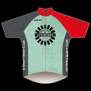 Lovibonds Brewery Green Design T1 Road Jersey - Short Sleeved