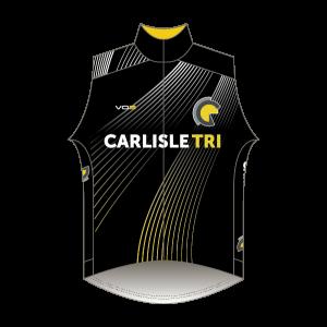 Carlisle Tri Rain Gilet - Full Back with Pockets