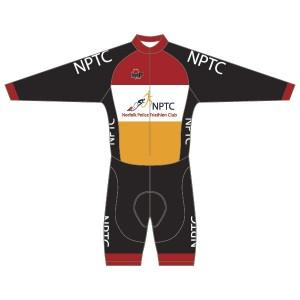 Norfolk Police Triathlon Club Long Sleeved Twenty-Twelve Skinsuit