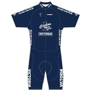 Victoria CC - Navy Design Short Sleeved Twenty-Twelve Skinsuit
