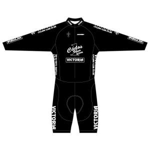 Victoria CC - Black Design Long Sleeved Twenty-Twelve Skinsuit