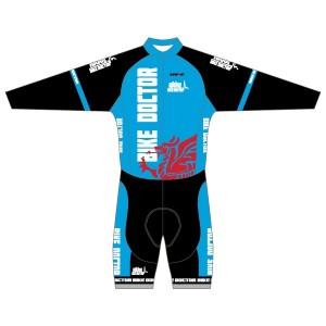 Bike Doctor - Blue Design Twenty Twelve Long Sleeved Twenty-Twelve Skinsuit
