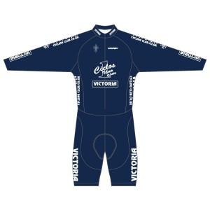Victoria CC - Navy Design Long Sleeved Twenty-Twelve Skinsuit