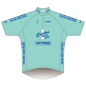 Victoria CC - Bianchi Design Short Sleeve Road Jersey