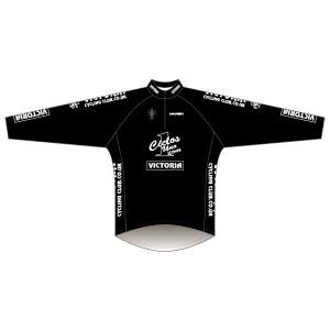 Victoria CC - Black Design Long Sleeve Road Jersey