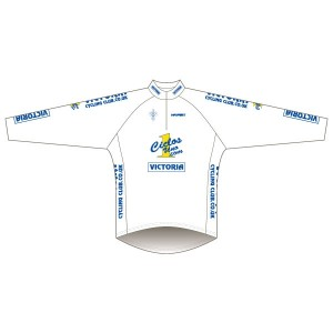 Victoria CC - White Design Long Sleeve Road Jersey