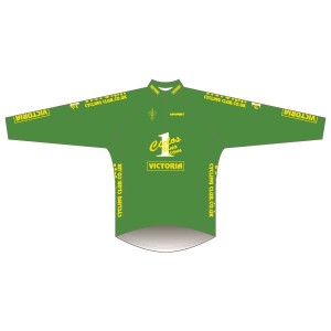 Victoria CC - Green Design Long Sleeve Road Jersey