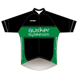 Quicker by Bike Short Sleeved Pro Road Jersey