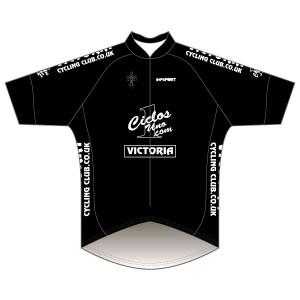 Victoria CC - Black Design Pro Road Jersey