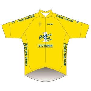 Victoria CC - Yellow Design Pro Road Jersey