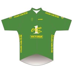 Victoria CC - Green Design Pro Road Jersey