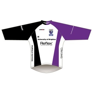 University of Brighton Long Sleeved Downhill Jersey