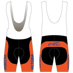 Victoria CC - Orange Design Twenty-Twelve Bibshorts