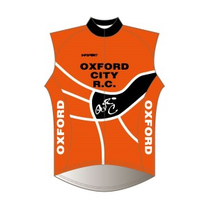 Oxford City RC Windproof Gilet - Full Back