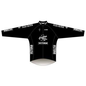 Victoria CC - Black Design Rain Jacket