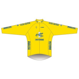 Victoria CC - Yellow Design Rain Jacket