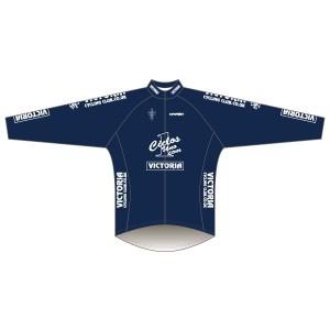 Victoria CC - Navy Design Rain Jacket