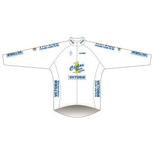 Victoria CC - White Design Winter Training Jacket