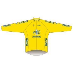 Victoria CC - Yellow Design Winter Training Jacket