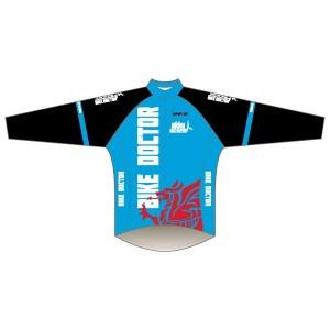 Bike Doctor - Blue Design Winter Training Jacket