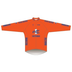 Victoria CC - Orange Design Winter Training Jacket