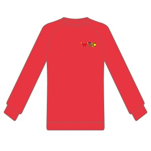 Washingborough Tennis Club Adult Sweatshirt - Red