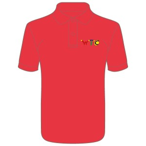 Washingborough Tennis Club Men's Polo Shirt - Red or White