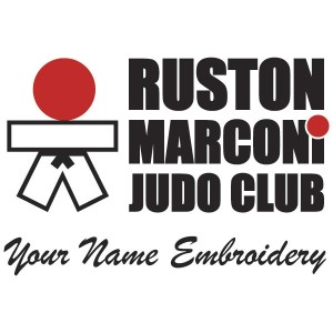 Ruston Marconi Judo Club Name Embroider to Belt