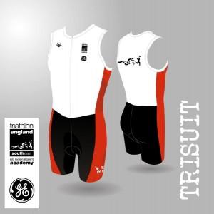 South East Region Men's Tri Suit