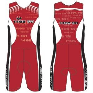 1485 Tri Club Men's Tri Suit with Pockets