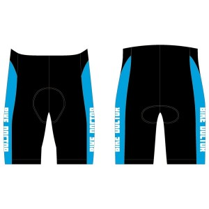 Bike Doctor - Blue Design Tri Shorts - no Pockets