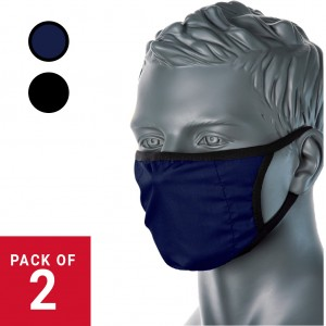 3 Layer Comfort Fabric Washable Reusable Face Masks